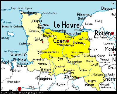 Calvados France Map.Basse Normandie On Whatamieating Com