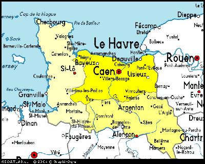 Calvados France Map.Basse Normandie On Whatamieating Com