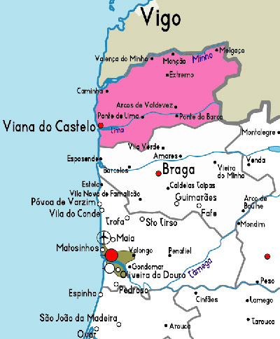 mapa portugal viana do castelo Viana do Castelo on whatamieating.com mapa portugal viana do castelo